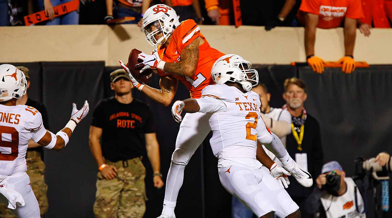 Oklahoma State vs. Texas: Mike Gundy, Taylor Cornelius throw Longhorns off their game