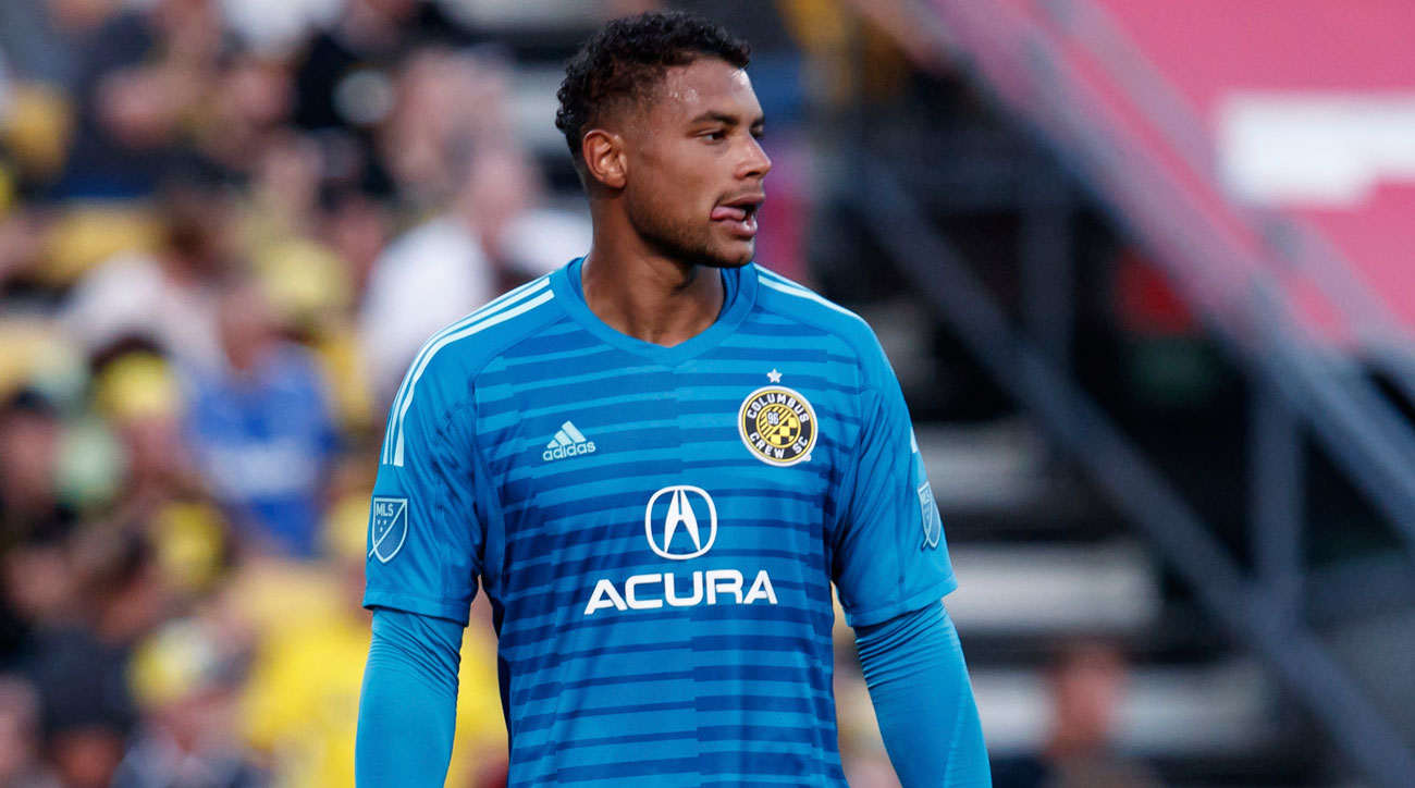 Zack Steffen makes two penalty kick saves to help Columbus oust D.C. United from the playoffs