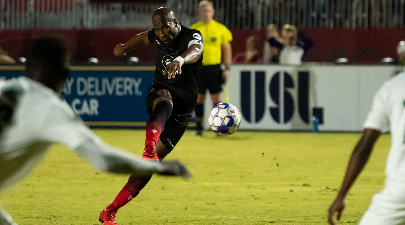 Didier Drogba is playing for Phoenix Rising FC in USL