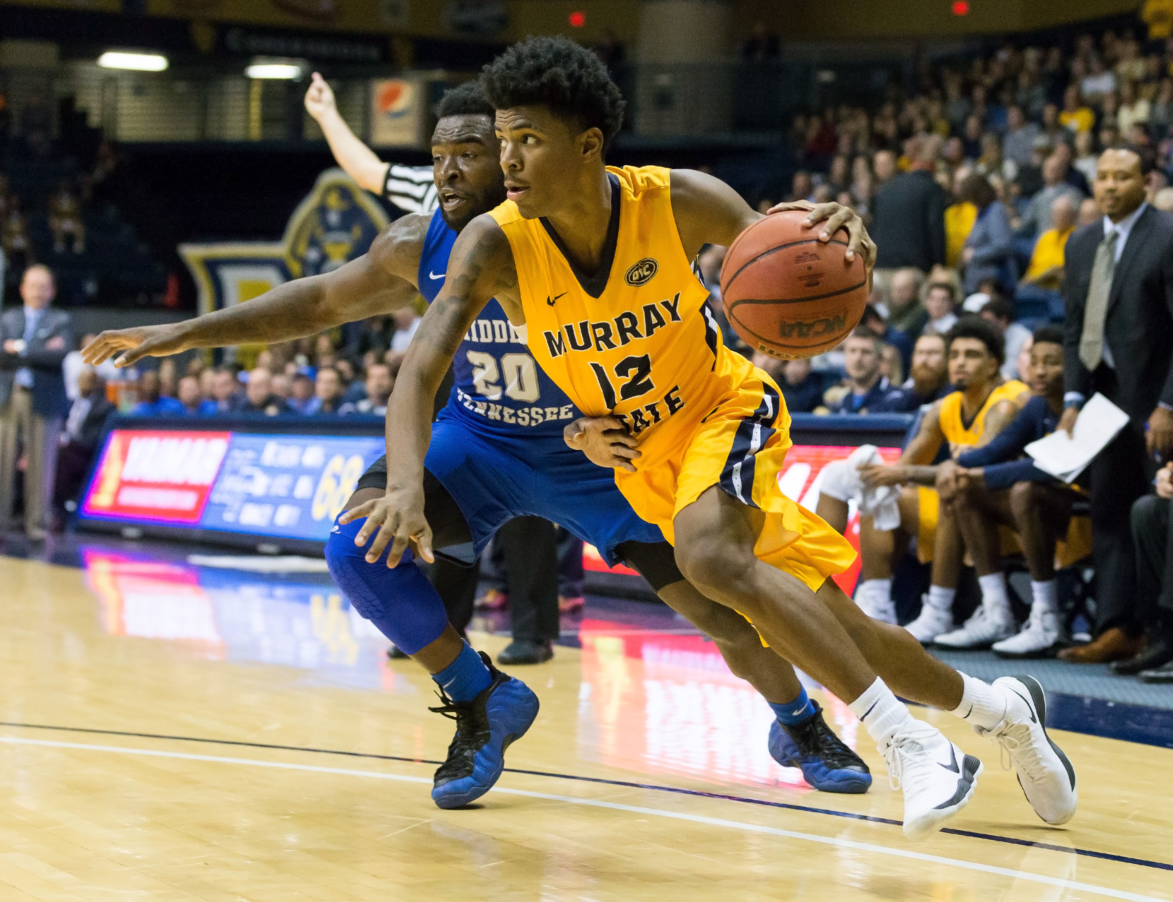 With fewer than 15 seconds to go in a November game Ja Morant received an inbounds pass dribbled the length of the court with his left hand slipped past