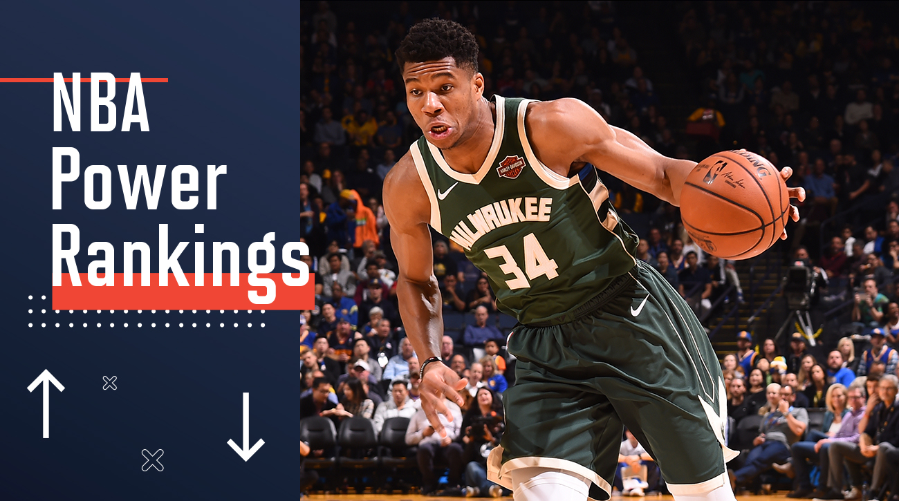NBA Power Rankings: The Bucks Are Growing Up Before Our Eyes | Sports Illustrated