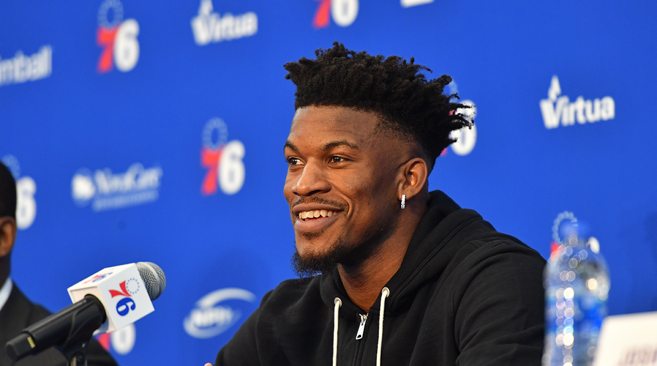Philadelphia 76ers Introduce Jimmy Butler and Justin Patton - Press Conference