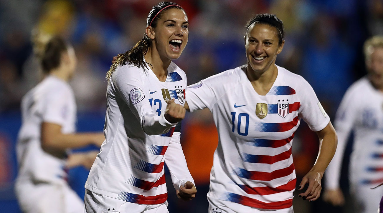 The USWNT faces Scotland in a friendly