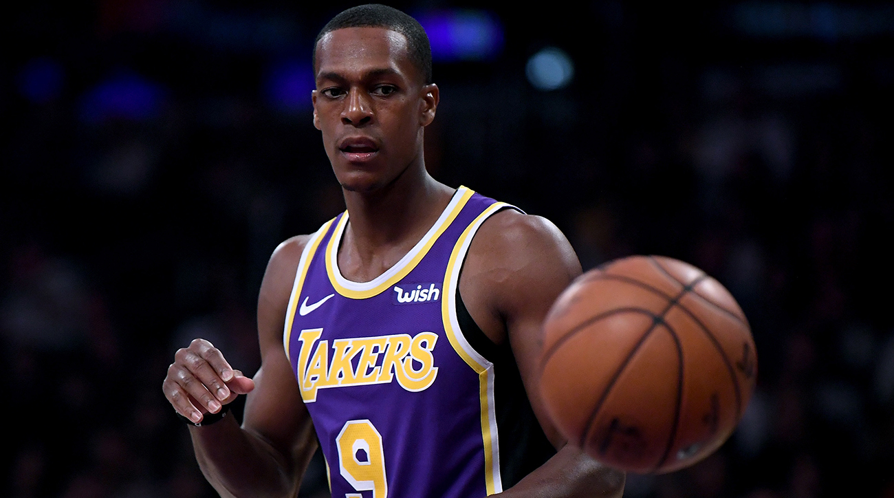 Lakers PG Rajon Rondo