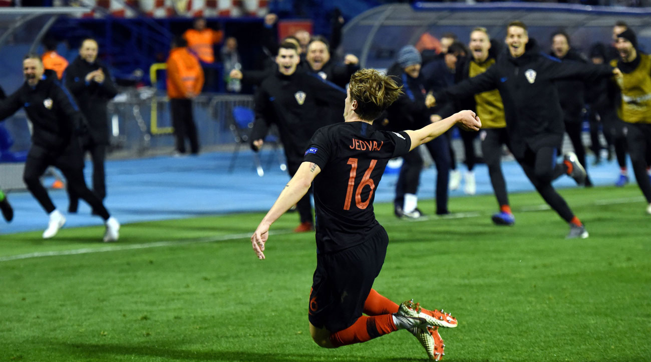 Croatia beats Spain in the UEFA Nations League