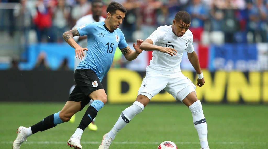 Uruguay v France: Quarter Final - 2018 FIFA World Cup Russia