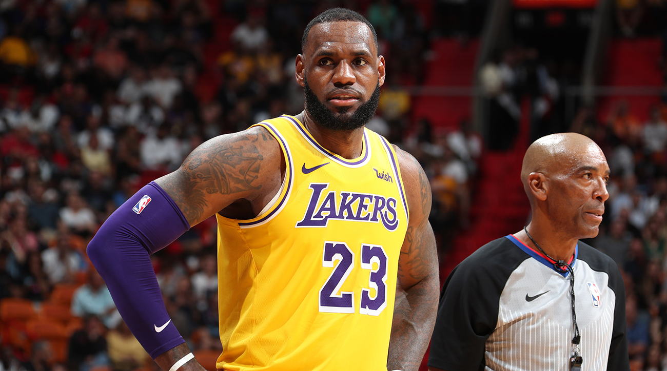 Los Angeles Lakers v Miami Heat