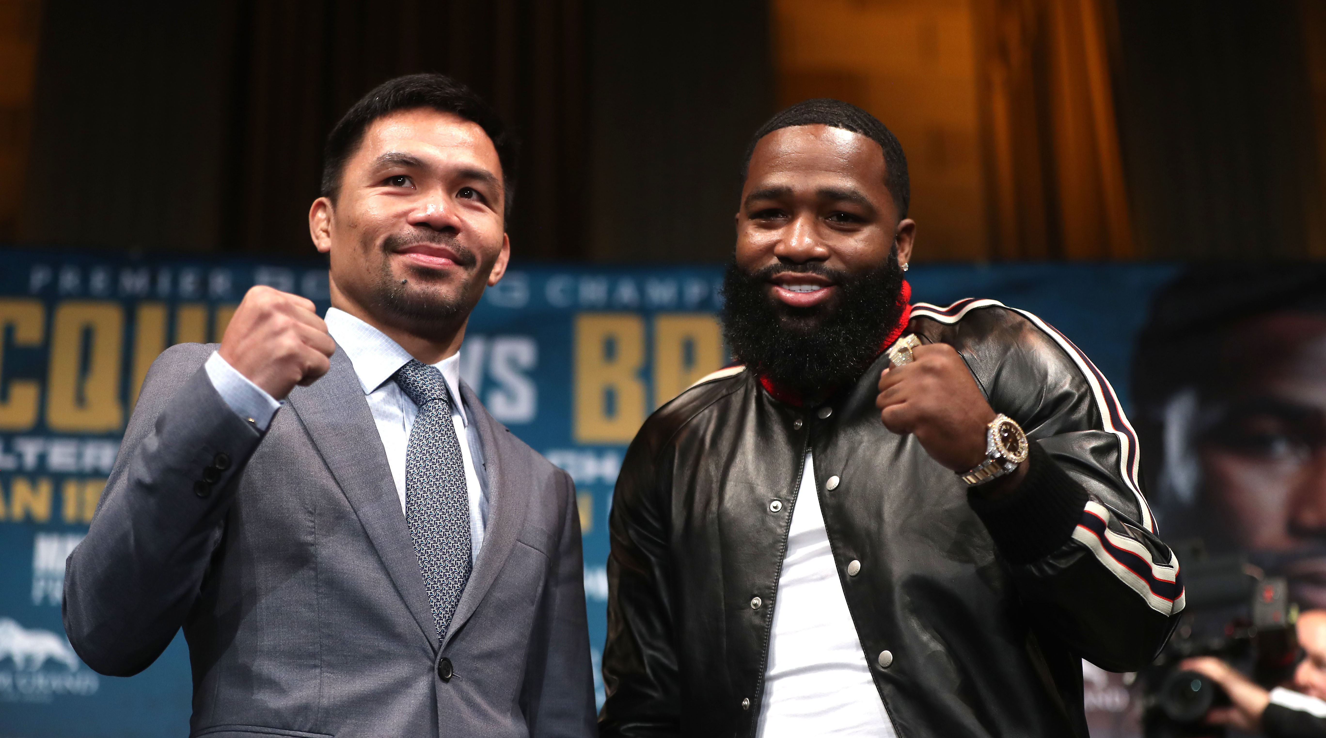 Manny Pacquiao Adrien Broner fight
