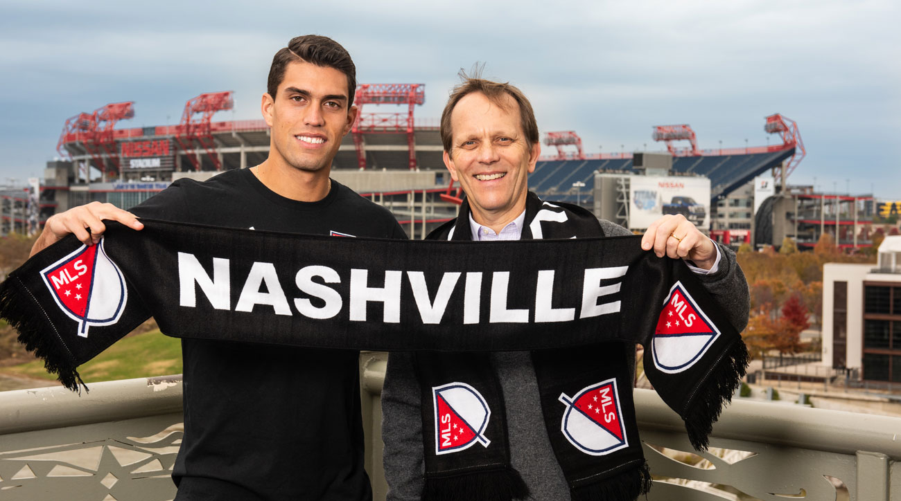 Daniel Rios is Nashville's first MLS signing