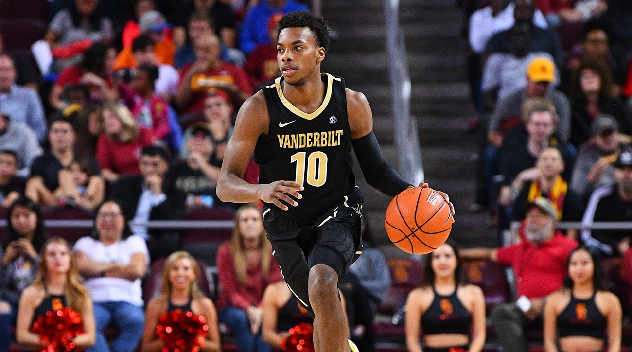 COLLEGE BASKETBALL: NOV 11 Vanderbilt at USC