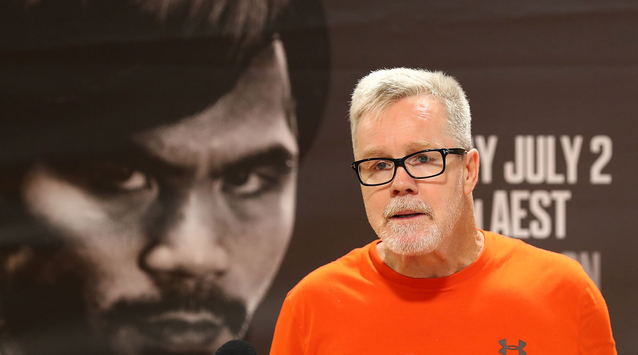 Freddie Roach was a longtime trainer for Manny Pacquiao