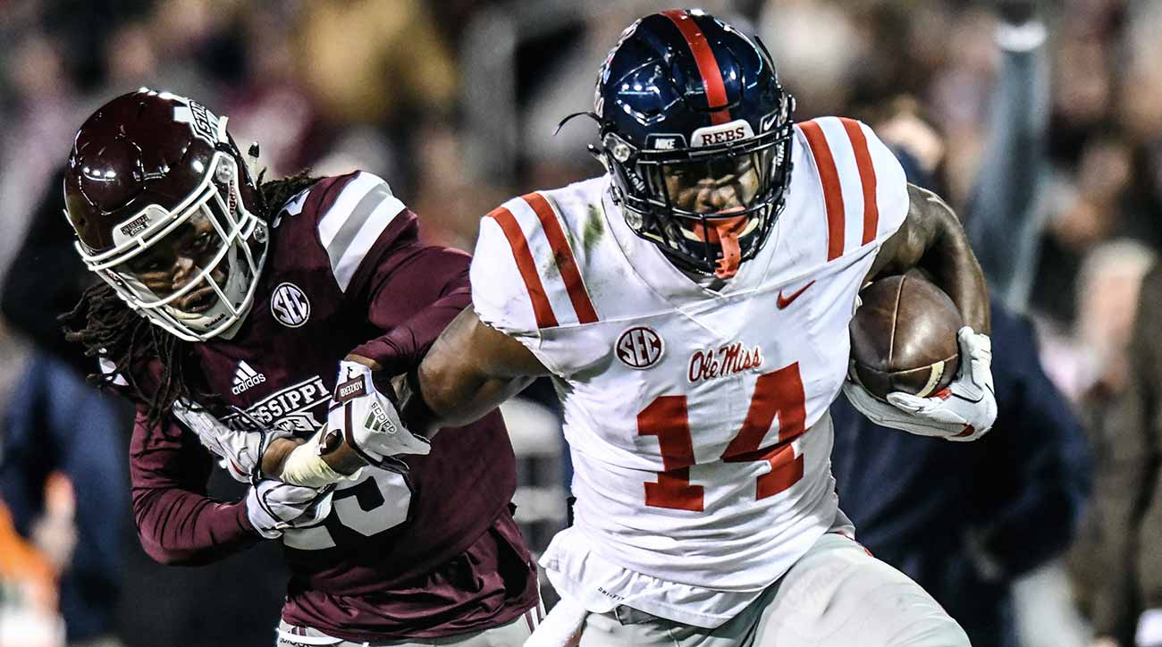 Ole Miss vs. Mississippi State rivalry