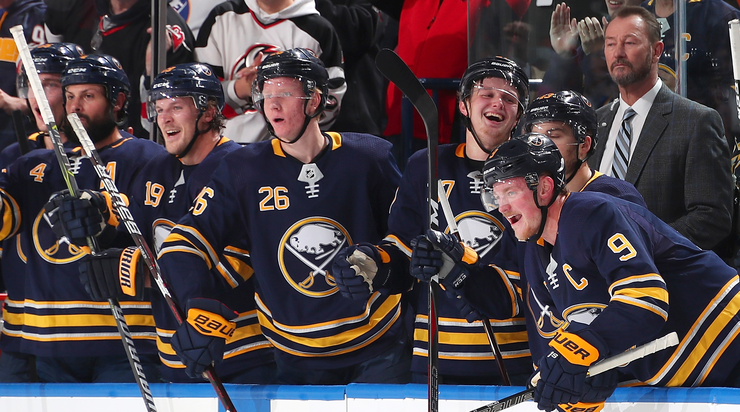 buffalo sabres jack eichel are on a roll with winning streak si com
