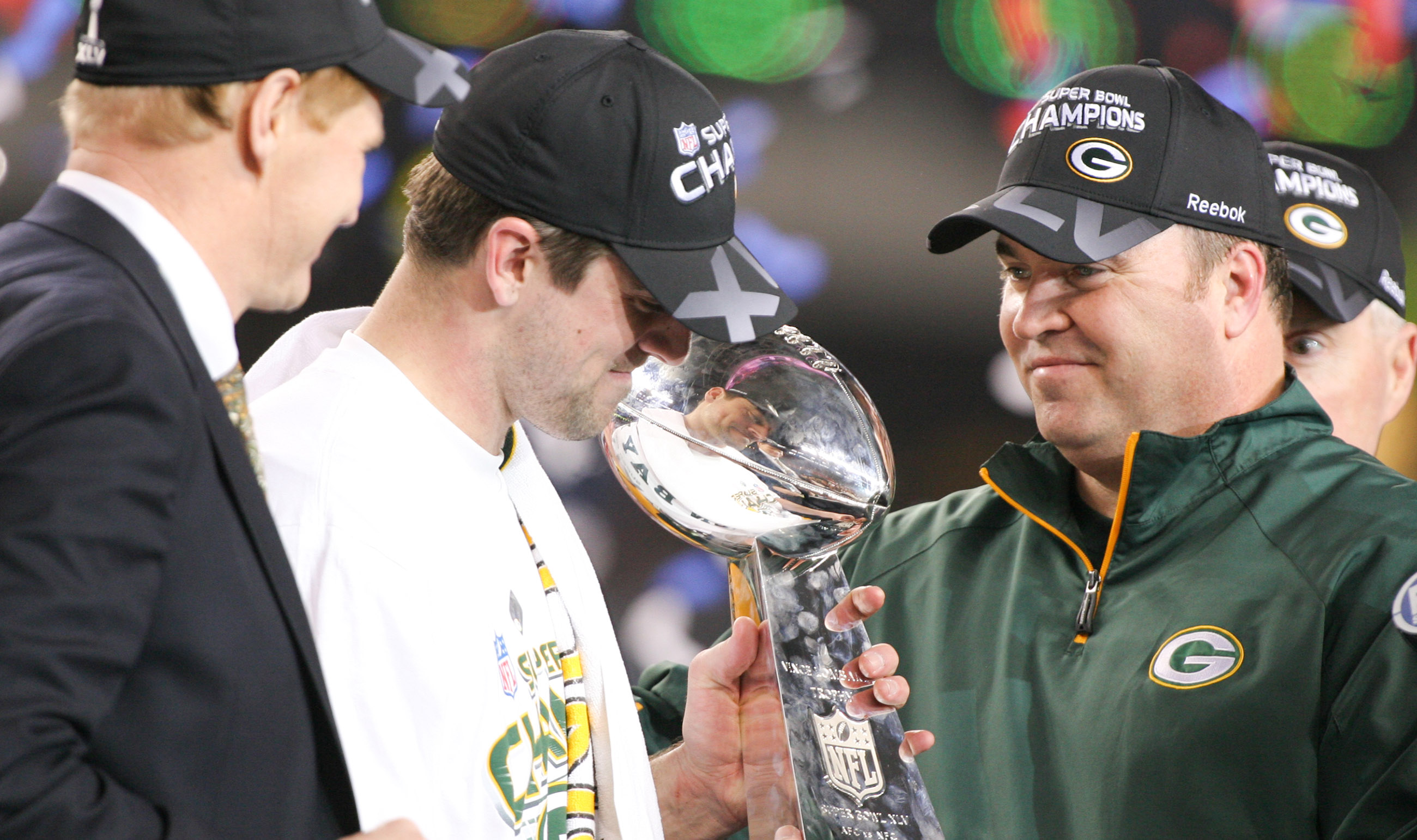 Aaron Rodgers, Mark Murphy, Mike McCarthy