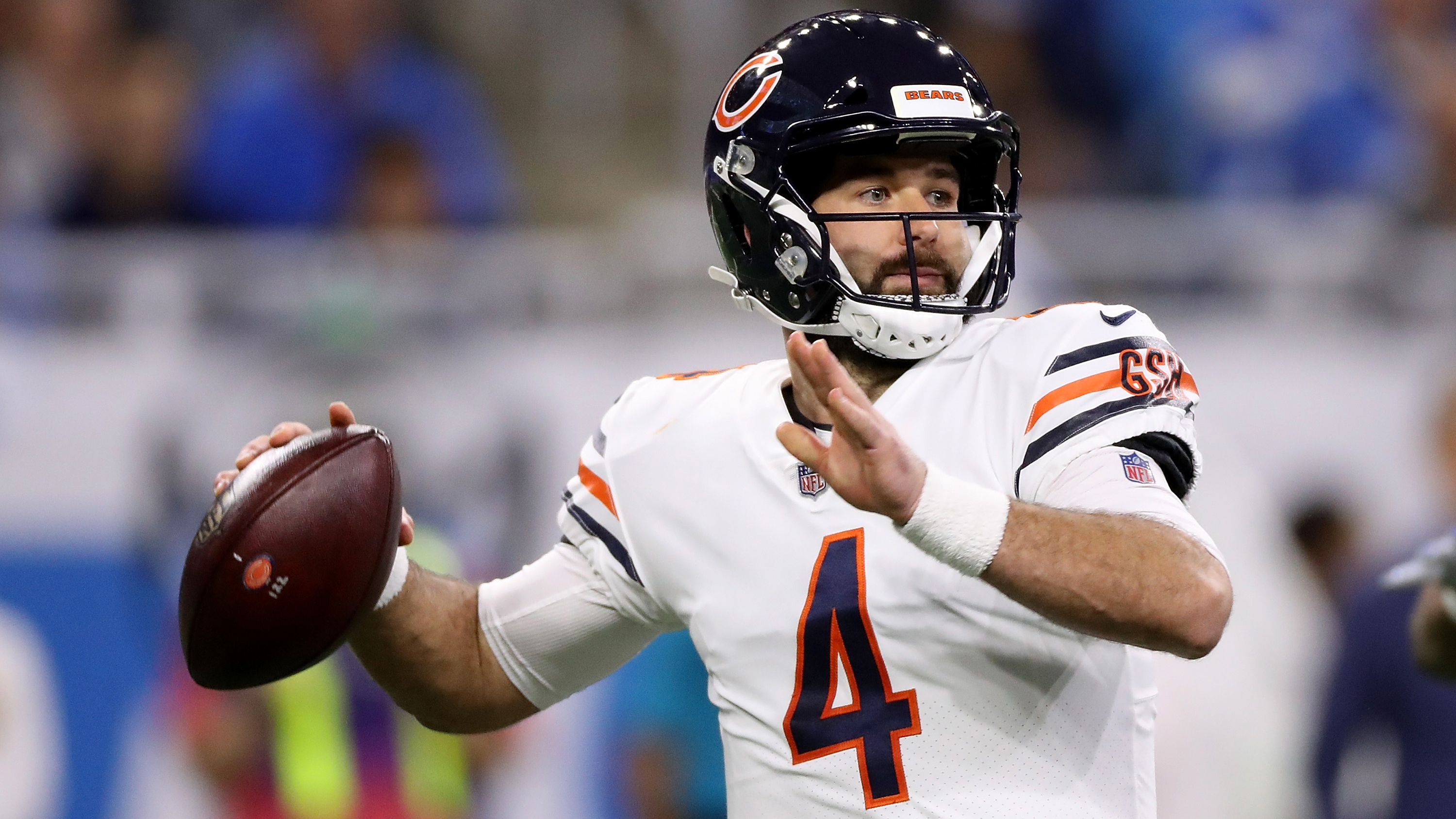 a3408b443 Mitchell Trubisky injury  Bears QB replaced by Chase Daniel