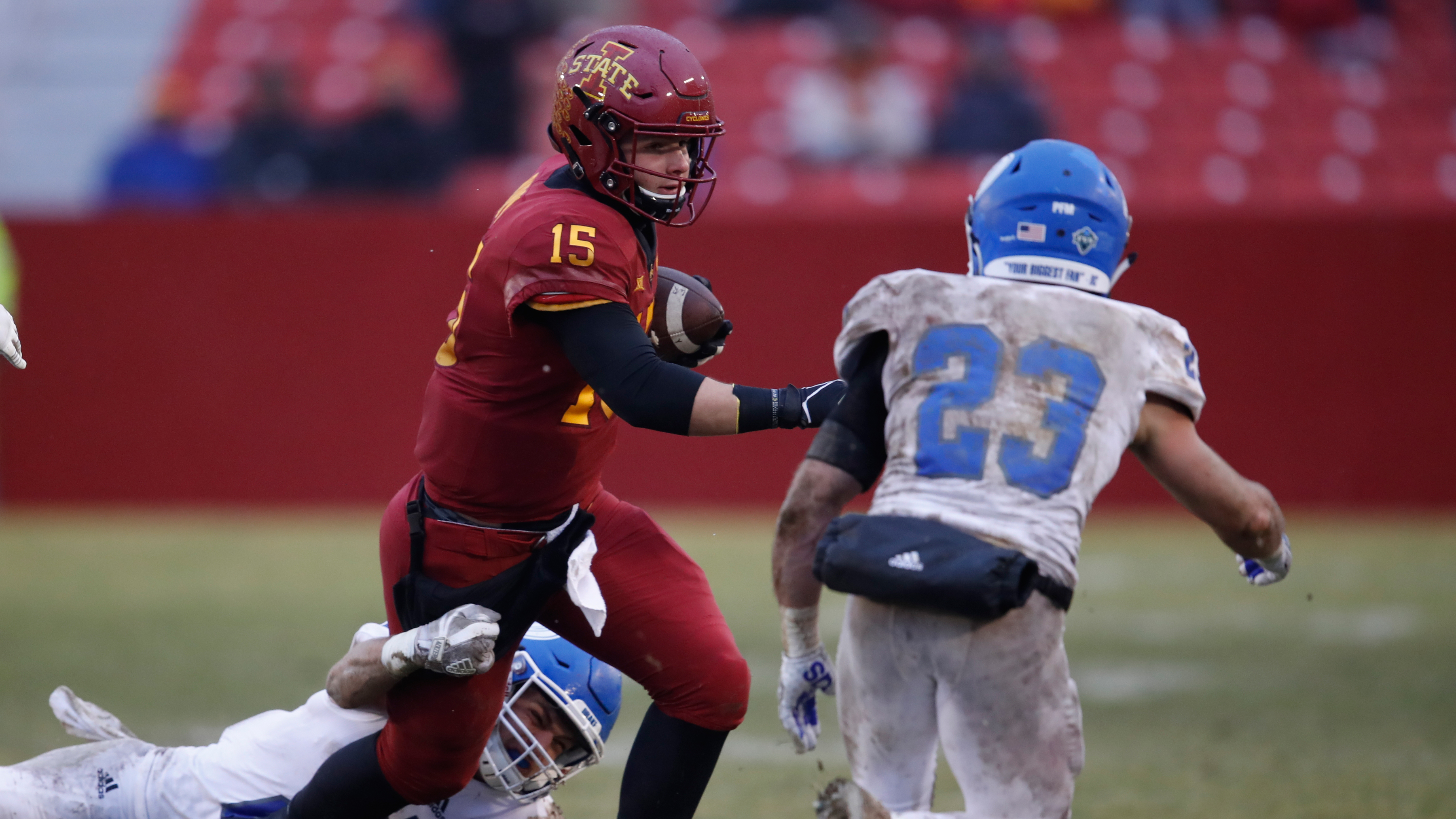 low cost 13d59 cb42c Iowa State football: Cyclones escape vs. Drake in three ...