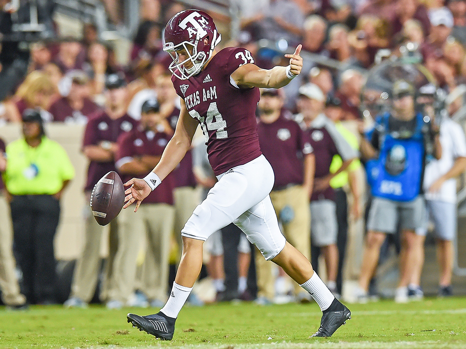 Texas A&M Braden Mann