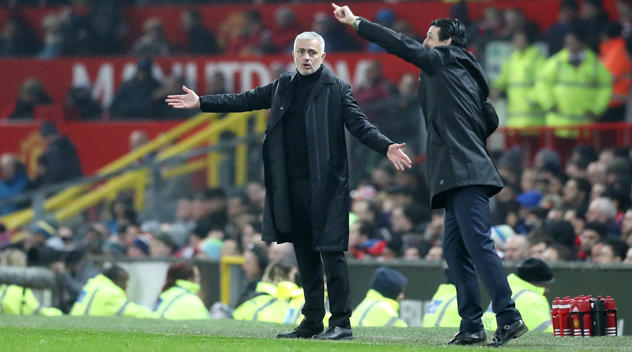 Manchester United and Arsenal play to a 2-2 draw in the Premier League