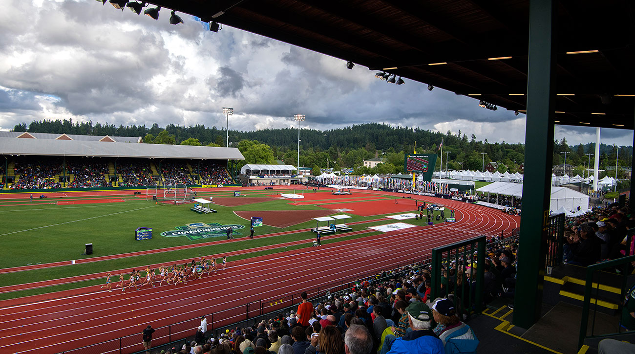 oregon track and field ncaa probation