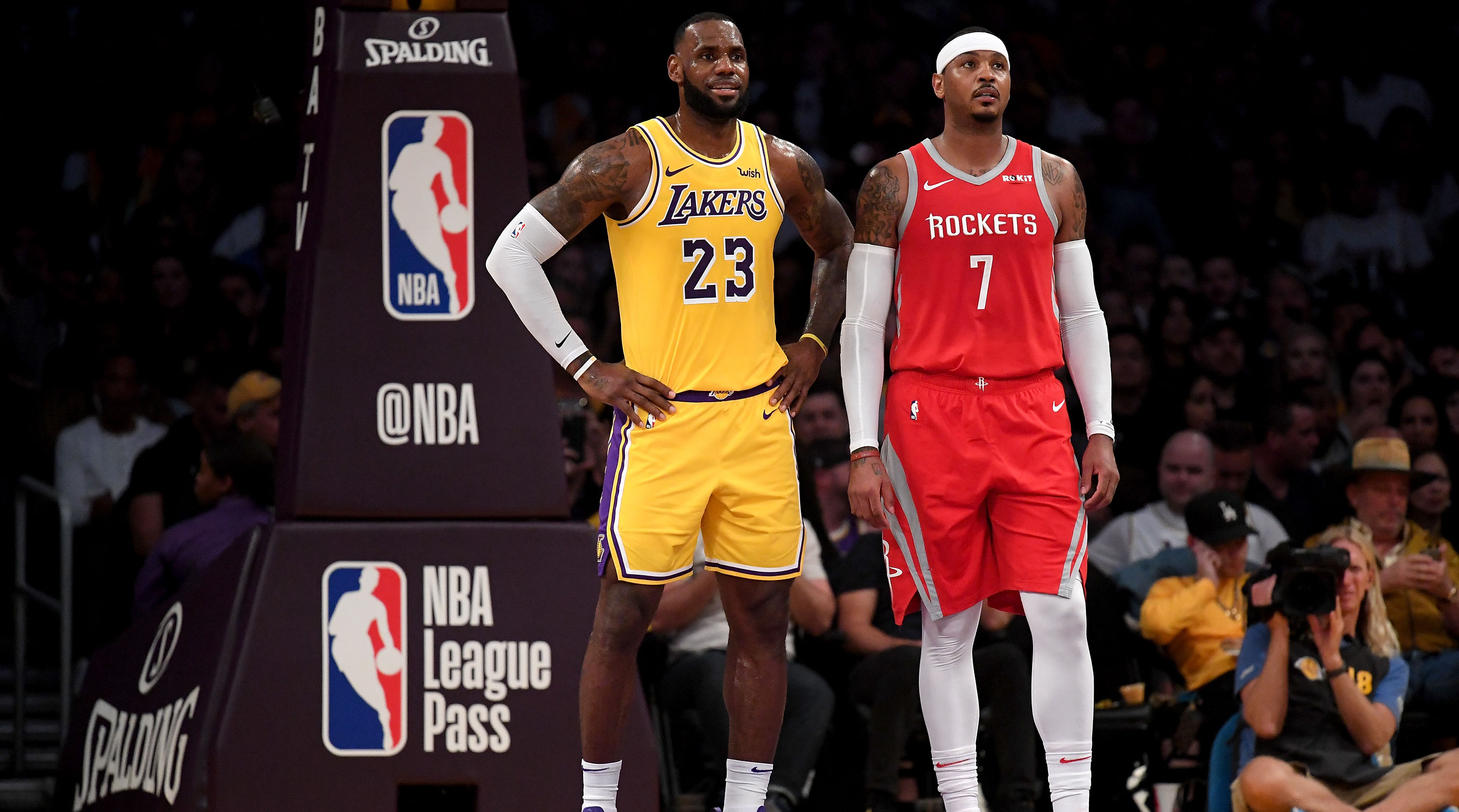 7c091521472e LeBron James wants Carmelo Anthony on Lakers