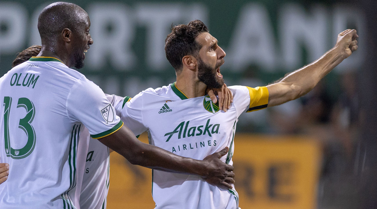 Diego Valeri leads the Portland Timbers to MLS Cup