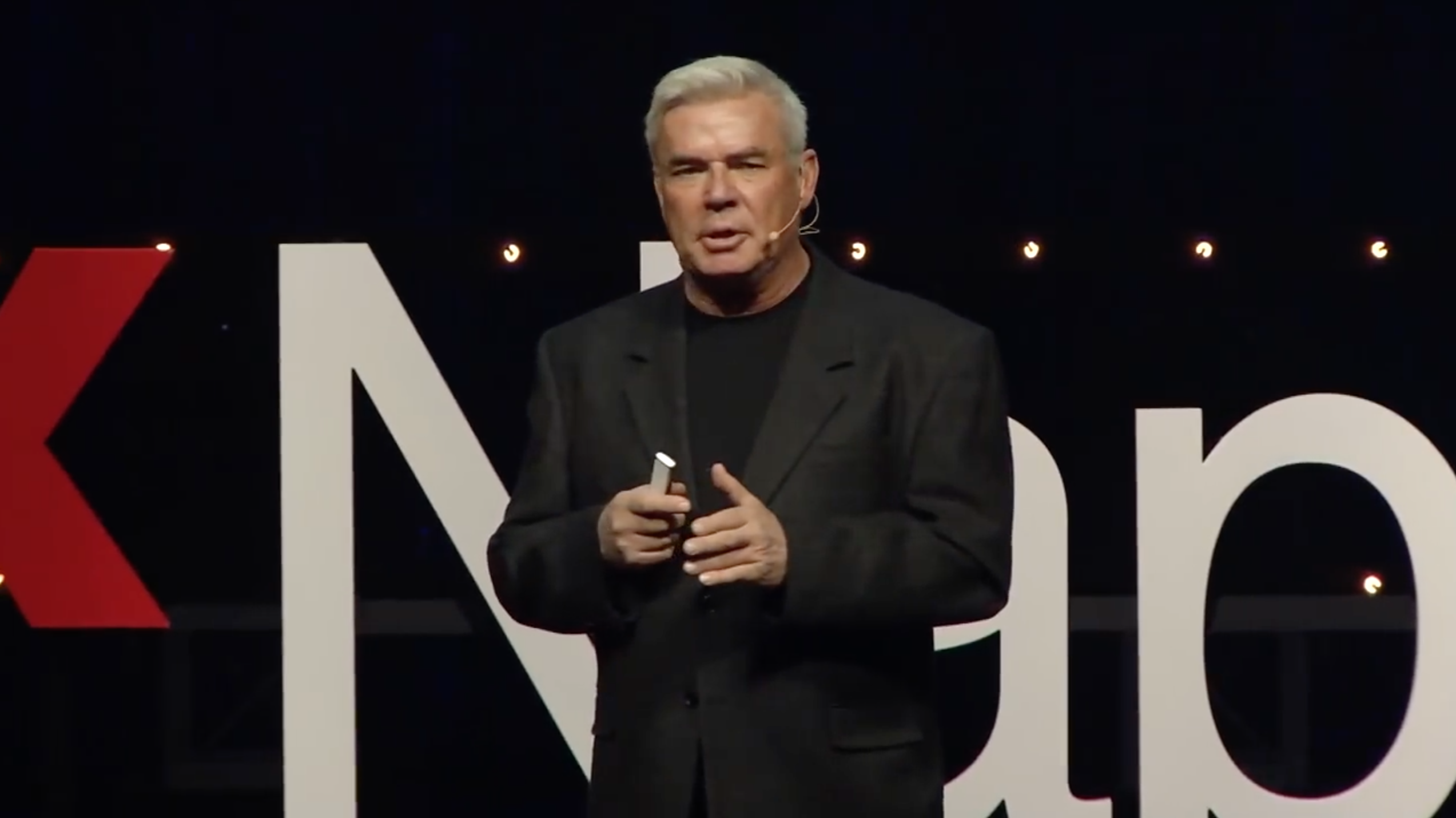 Eric Bischoff TED talk: WCW president discusses news media