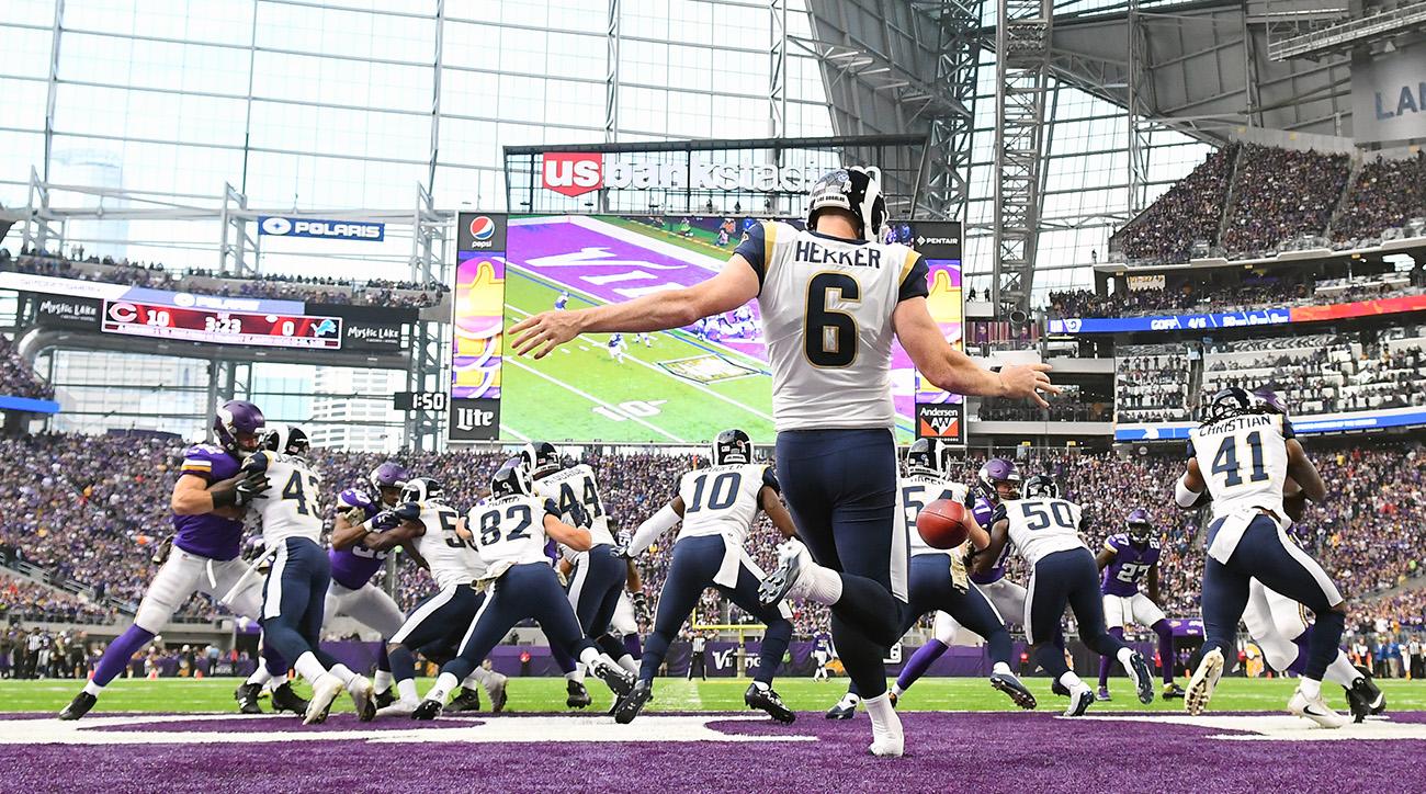 NFL: NOV 19 Rams at Vikings