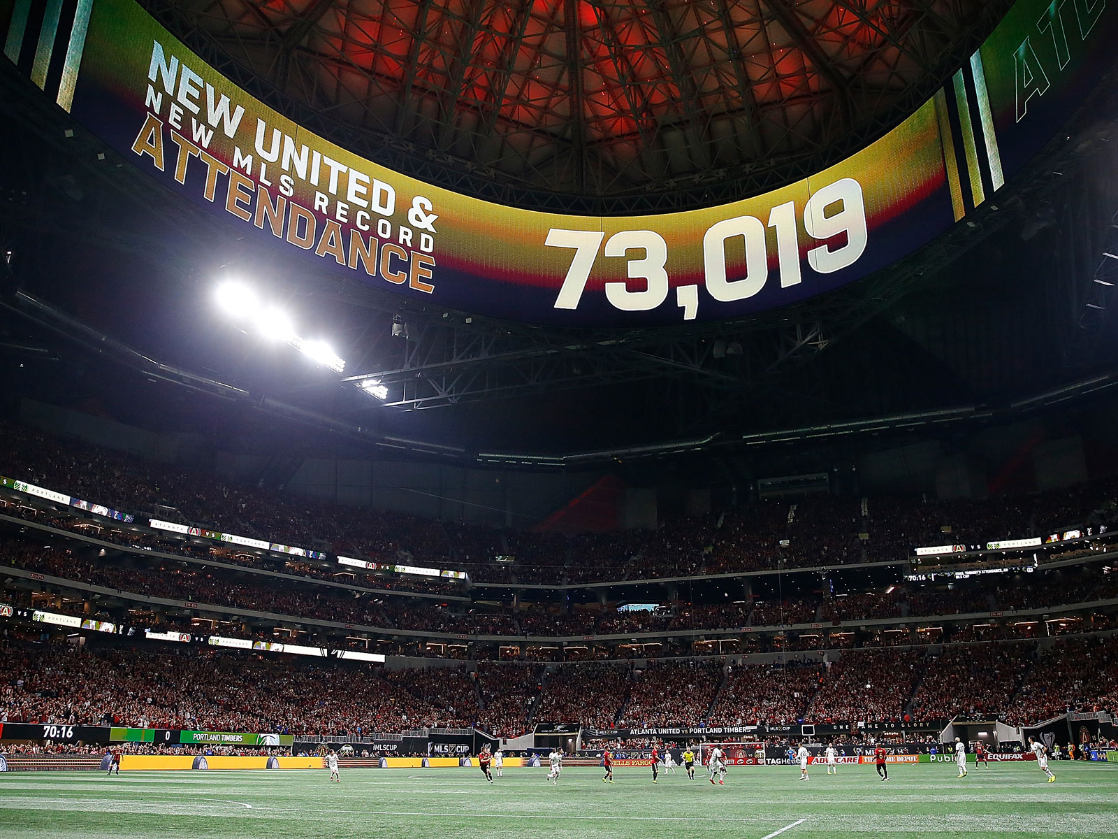 Atlanta United wins MLS Cup in front of a record crowd