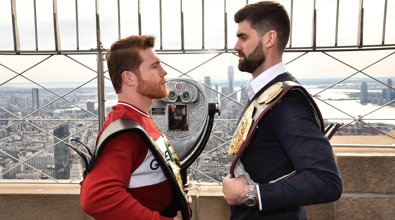 Canelo Alvarez vs Rocky Fielding tale of the tape