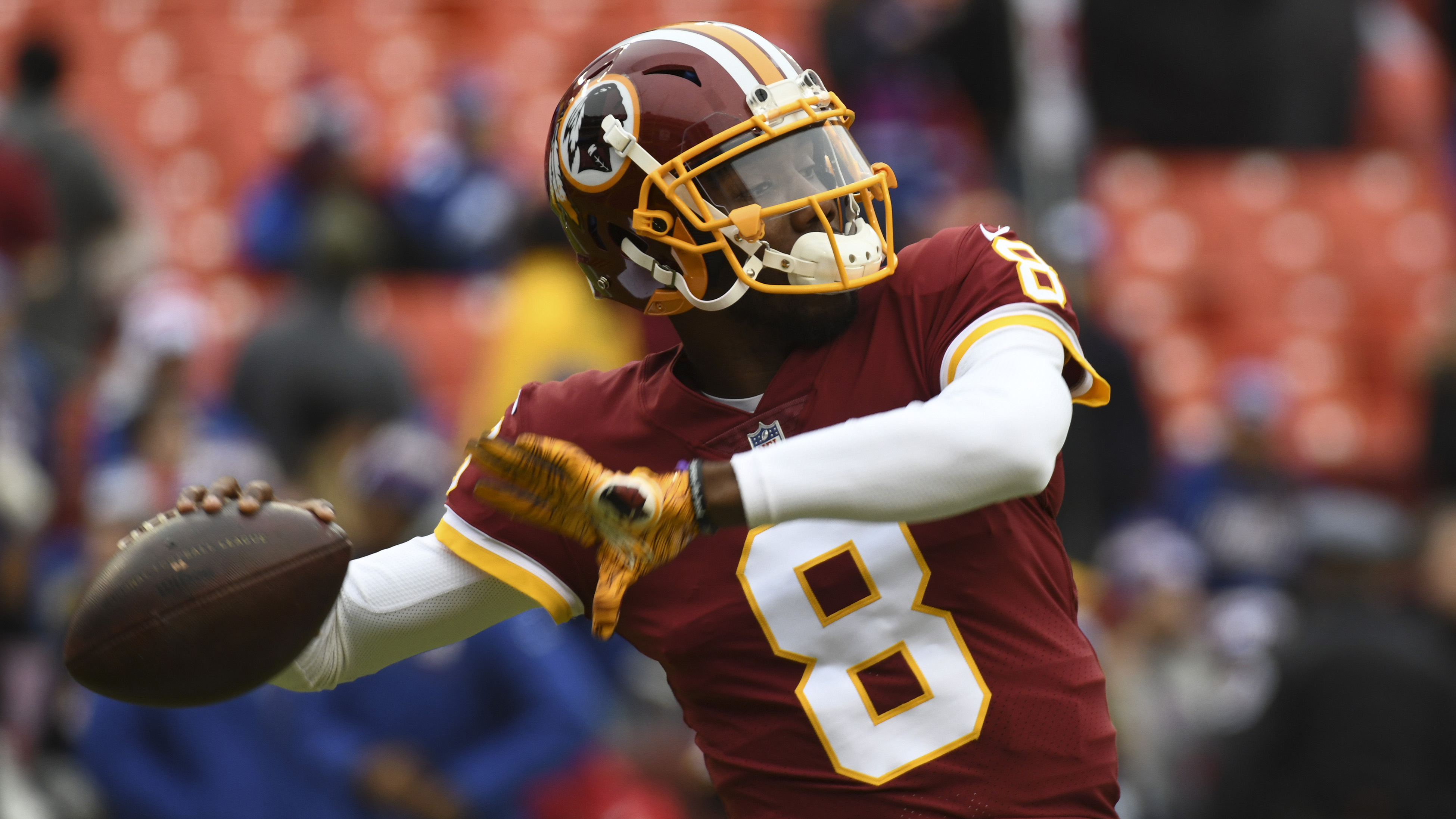 Josh Johnson Redskins Qb Plays Madden To Learn Teammates Names