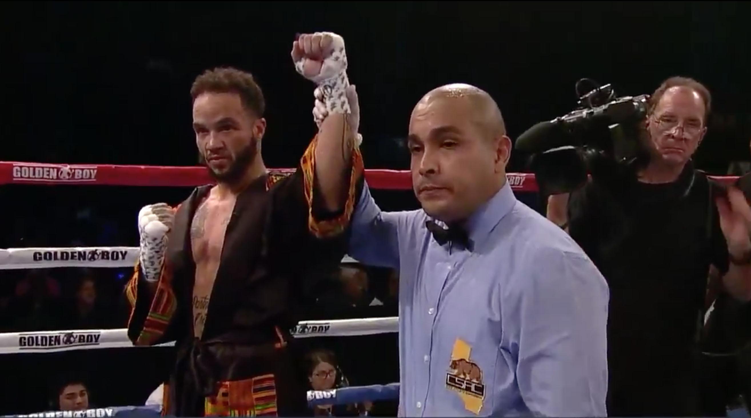 Transgender male Patricio Mauel wins boxing match