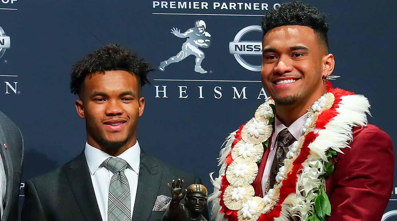 Kyler Murray wins Heisman Trophy; Tua Tagovailoa, Alabama take motivation