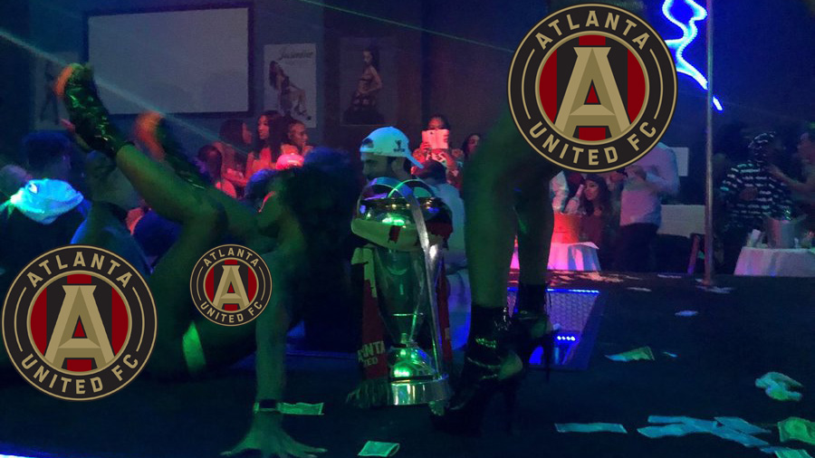 Atlanta United: Magic City celebration with MLS Cup (photo)