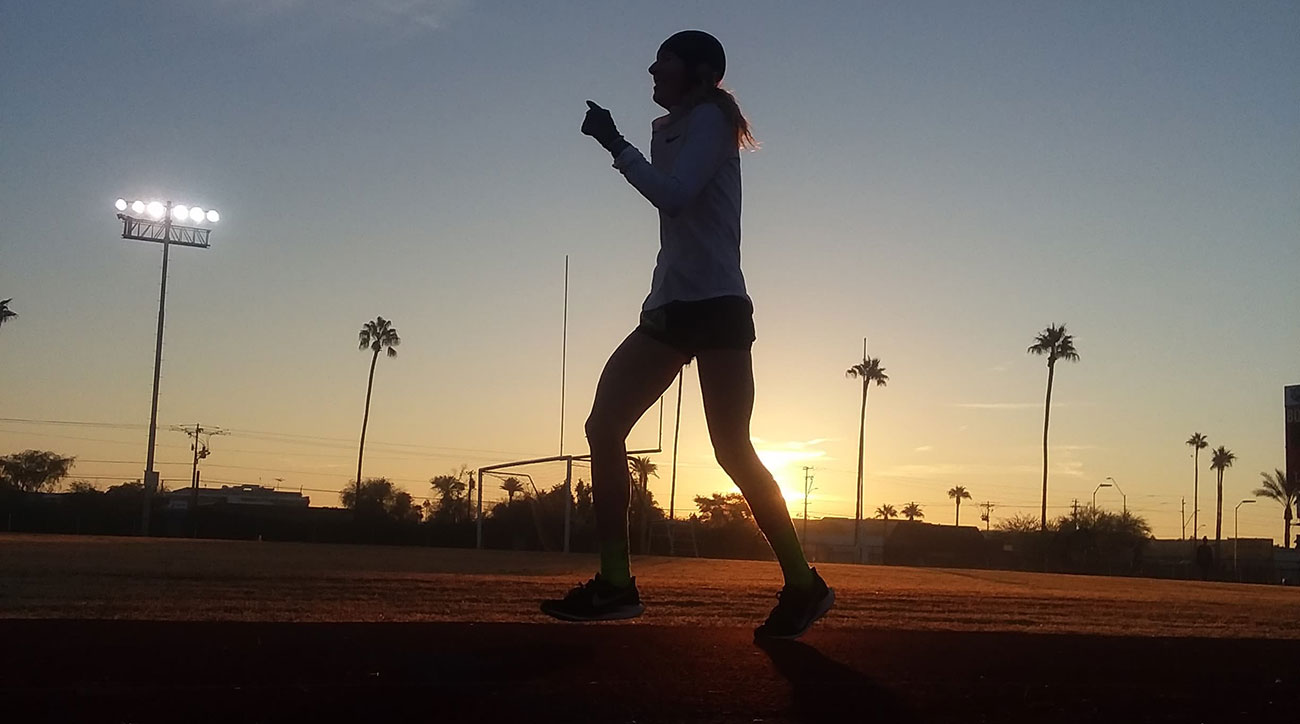camille herron 24 hour run world record desert soltice