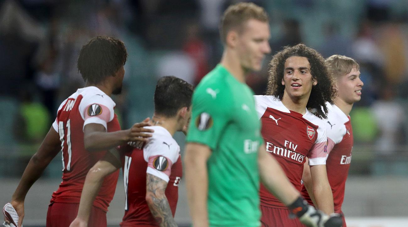 Arsenal plays Qarabag in the UEFA Europa League