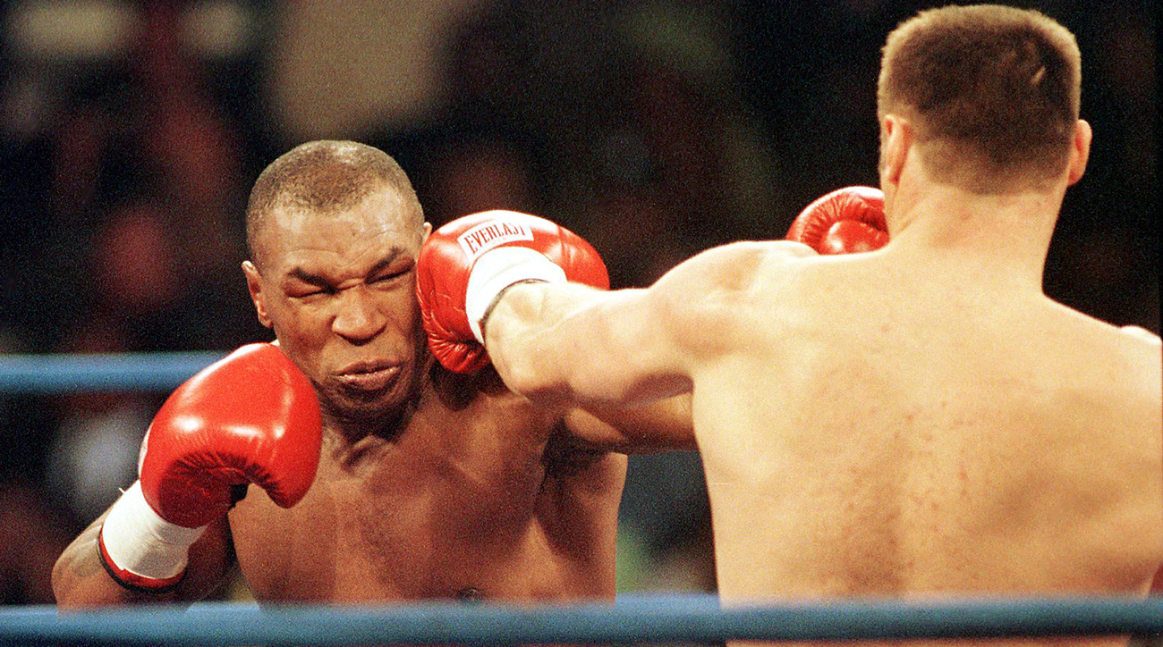 mike tyson, mike tyson weed, mike tyson Andrew Golota Fight