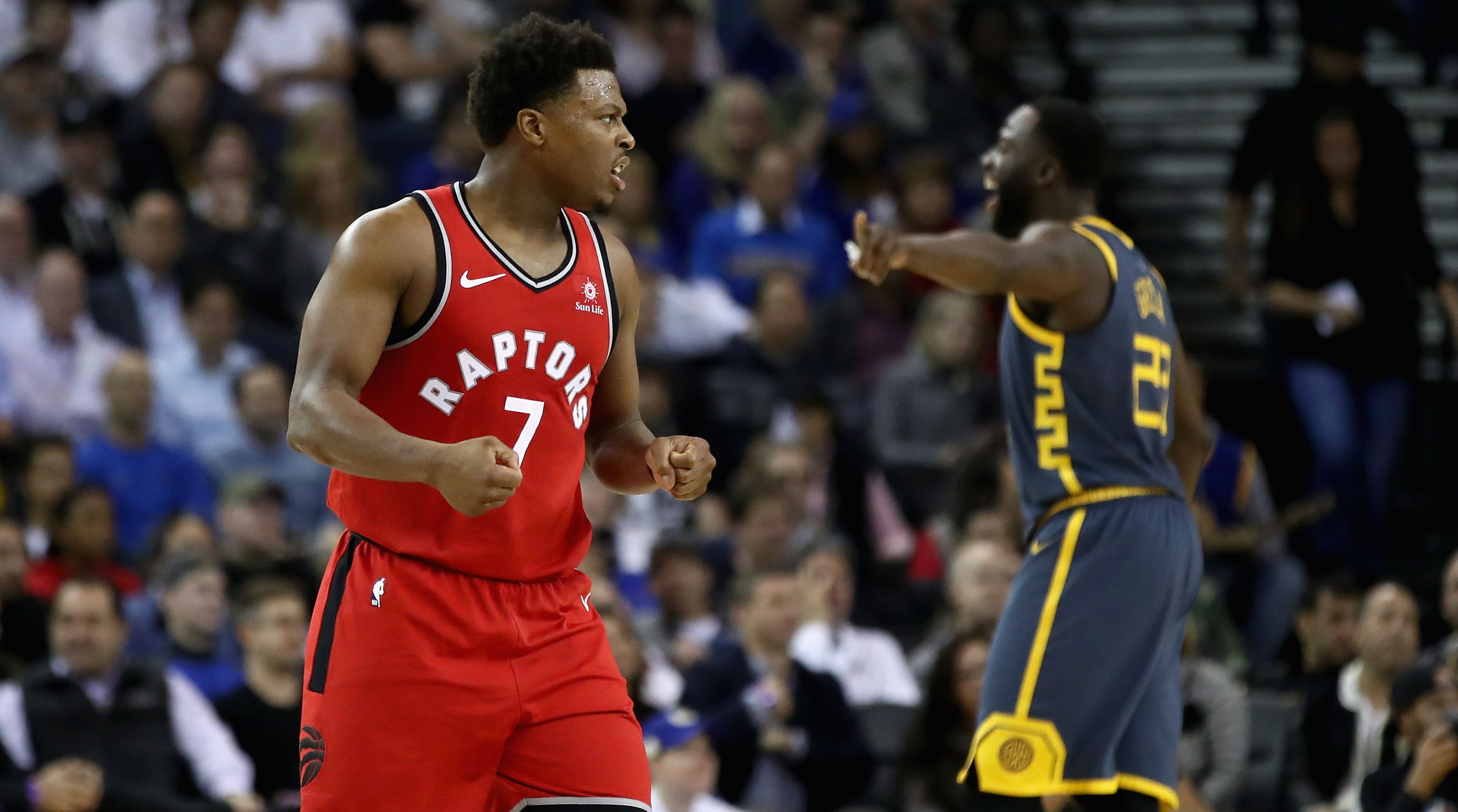 Image result for kyle lowry raptors warriors