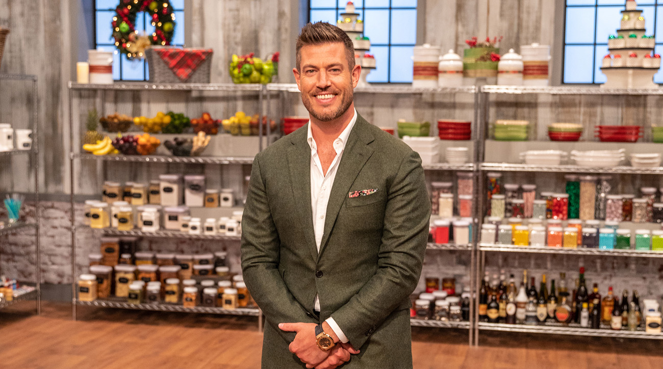 jesse palmer food network holiday baking championship
