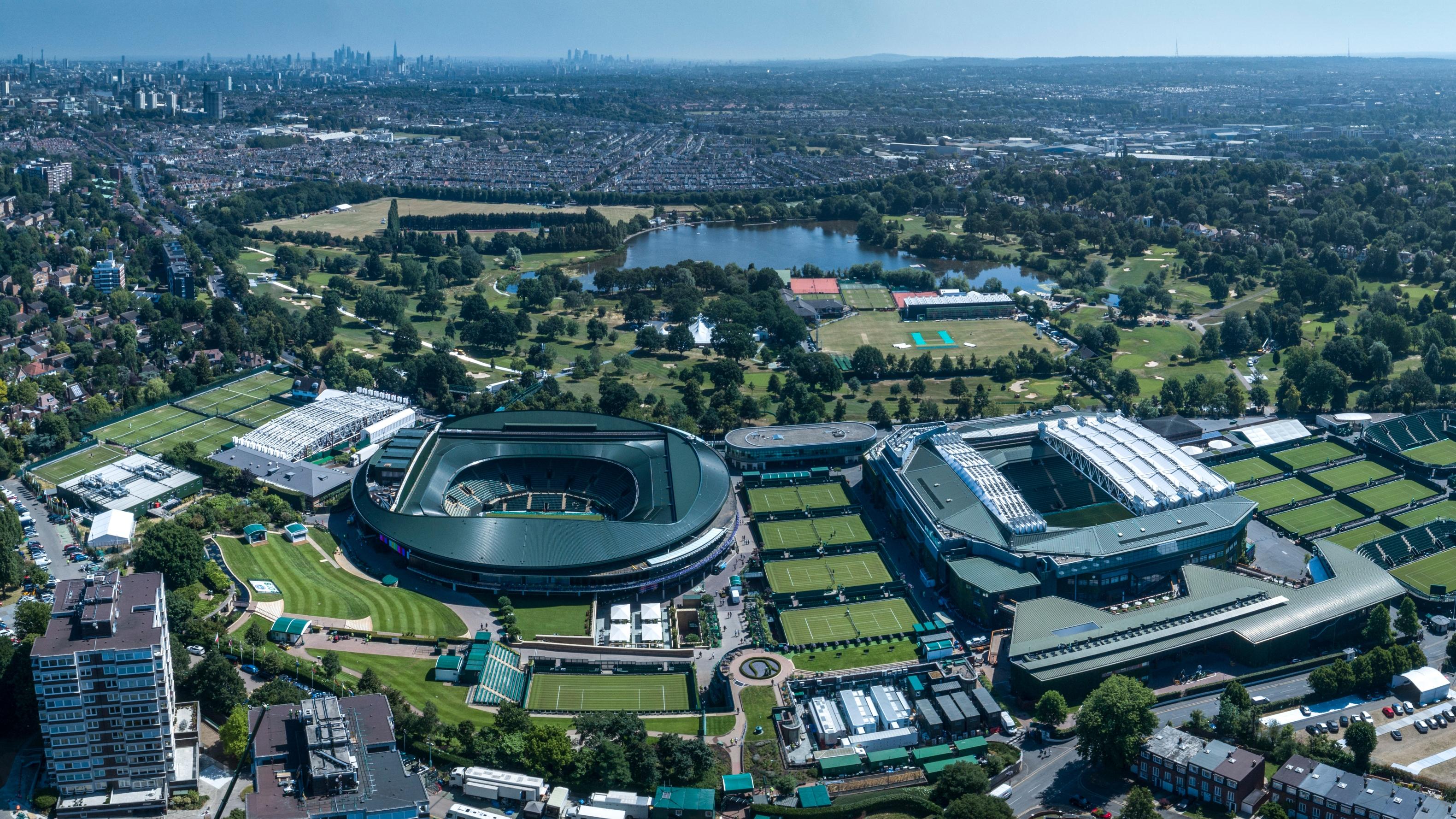 Wimbledon all england club wimbledon park golf club