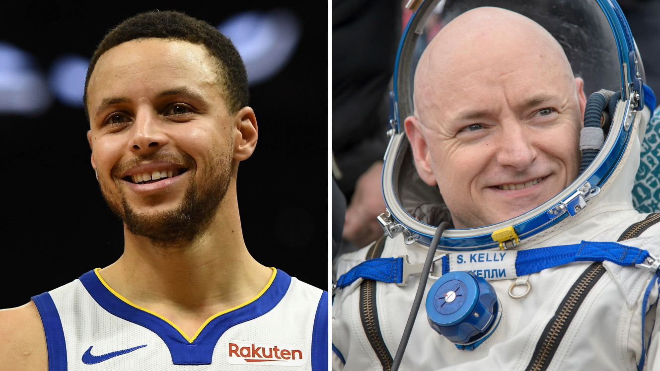 Stephen Curry interviews astronaut Scott Kelly (video)