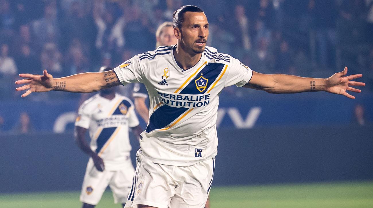 Zlatan Ibrahimovic is set to return to the LA Galaxy