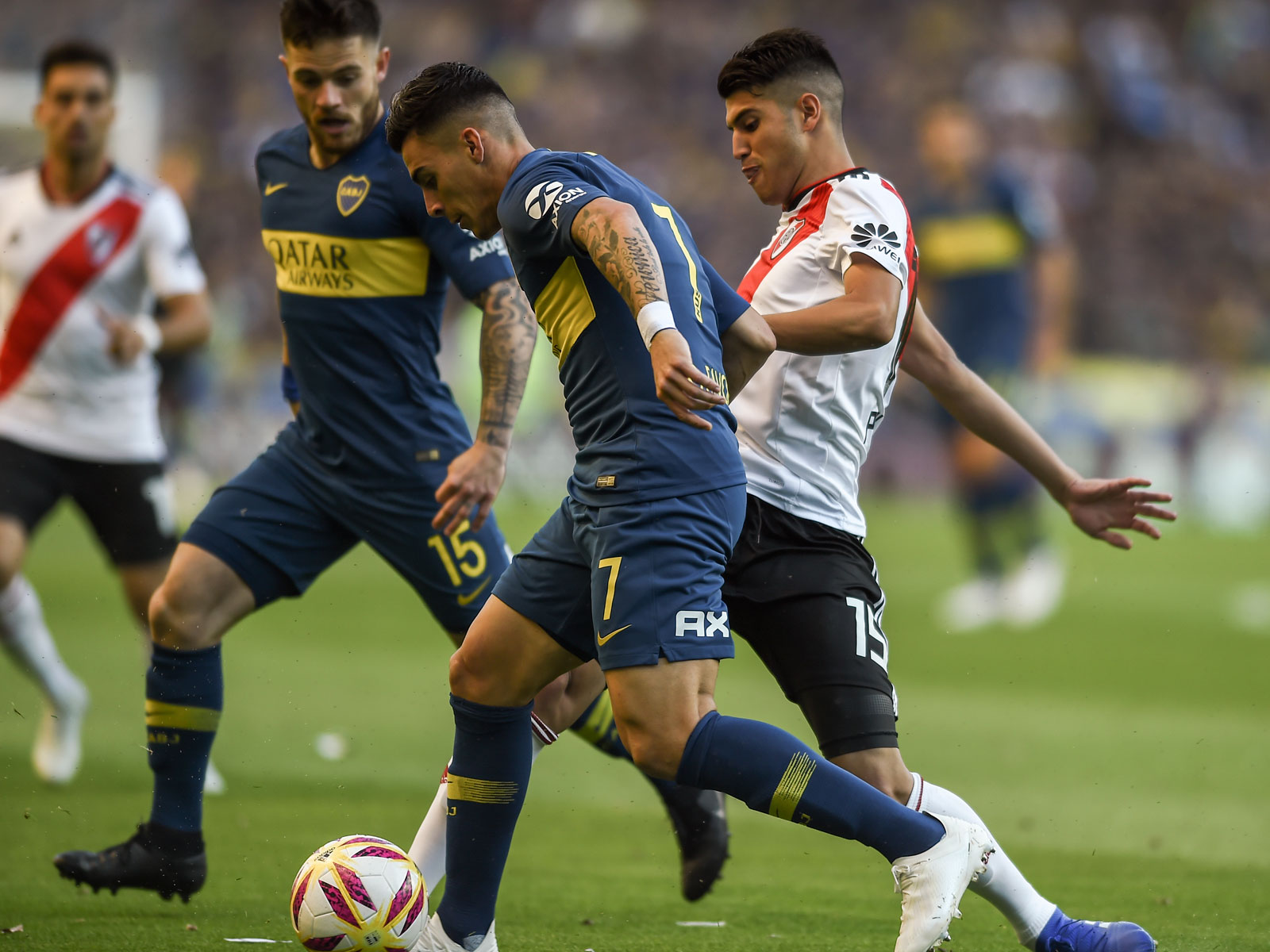 Boca Juniors star Cristian Pavon and River Plate standout Exequiel Palacios could be headed to Europe