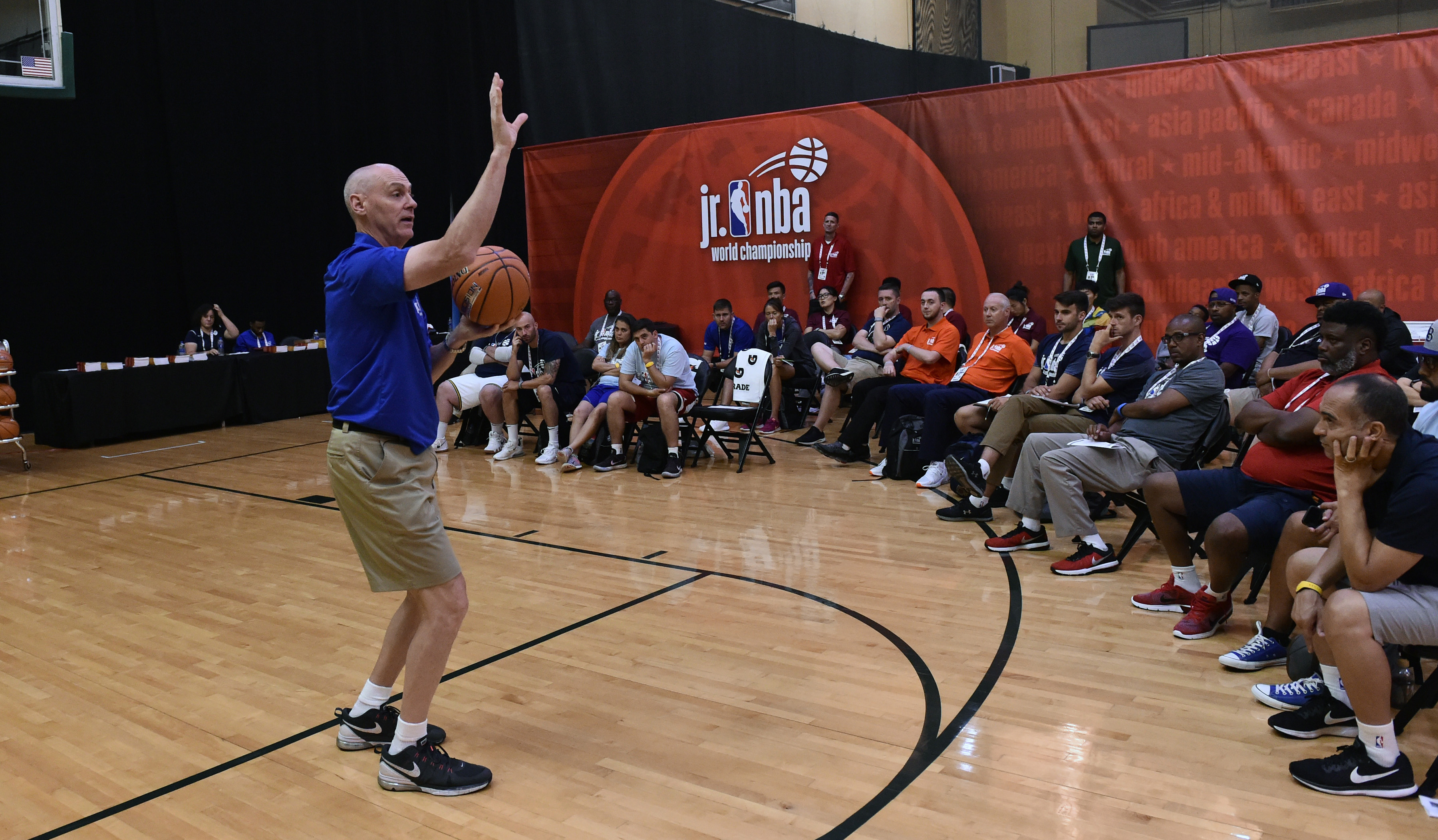 Jr. NBA World Championship Tournament - Coaching Clinic