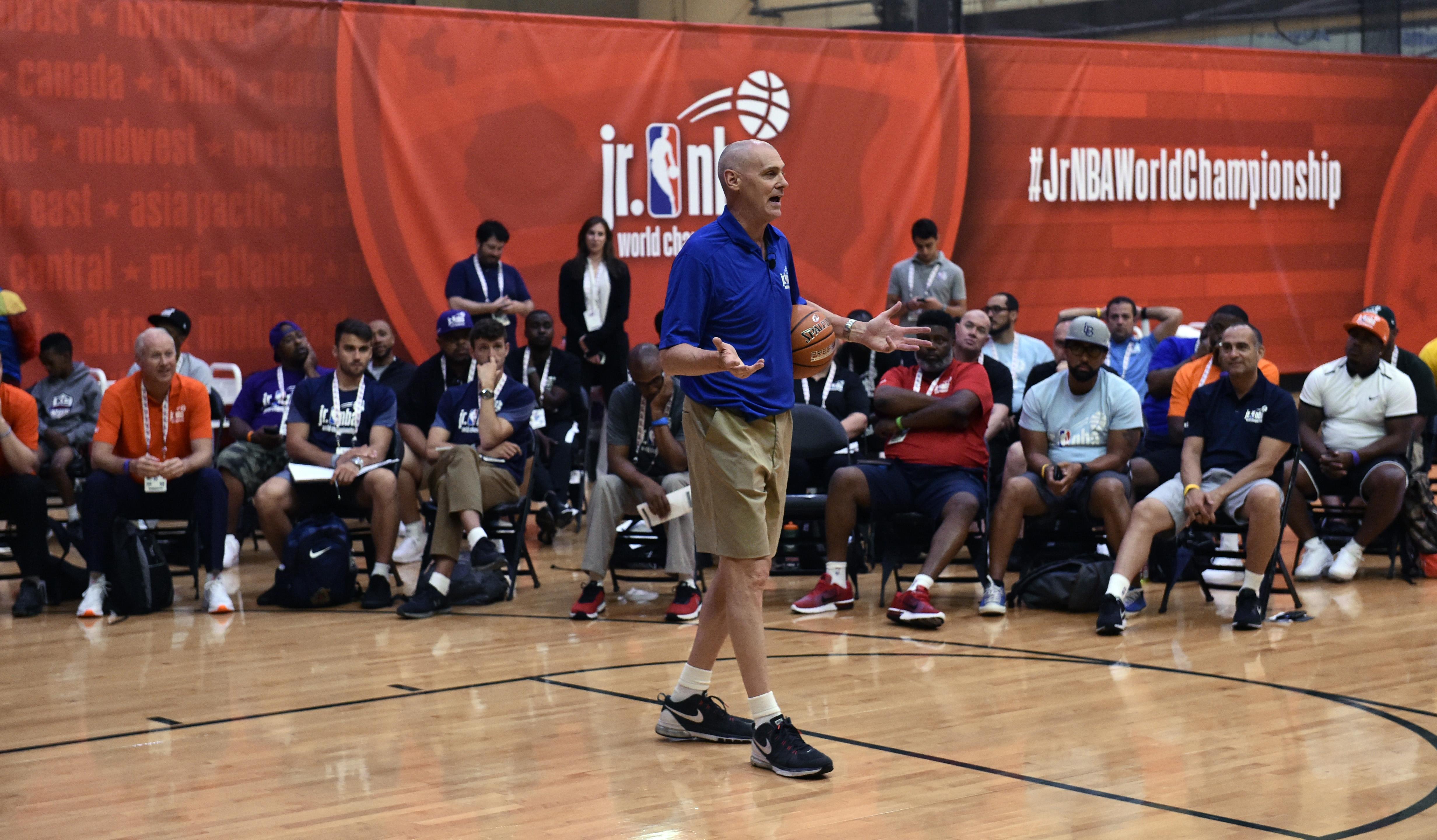 Jr. NBA World Championship Tournament - Coaching Clinic