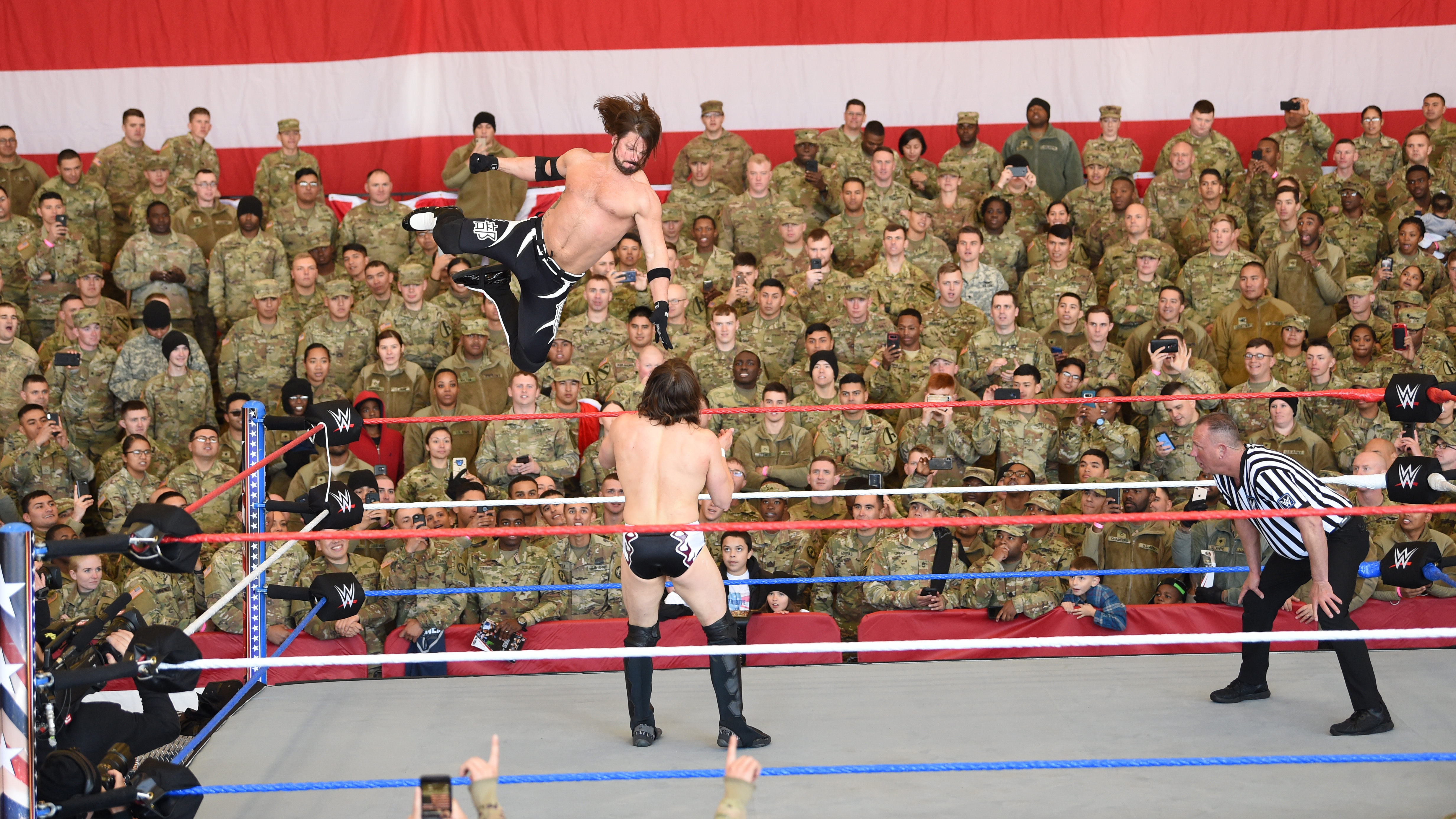 WWE wrestling news: Tribute to the Troops boosts morale
