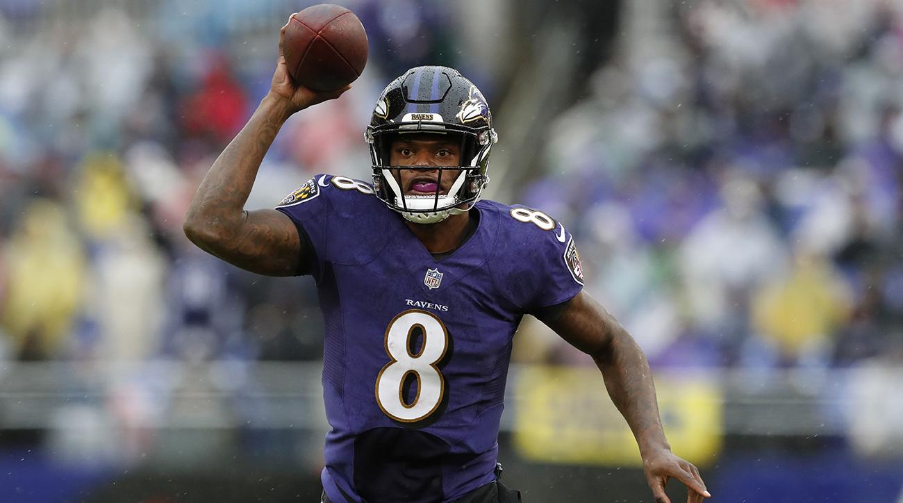 Ravens QB Lamar Jackson