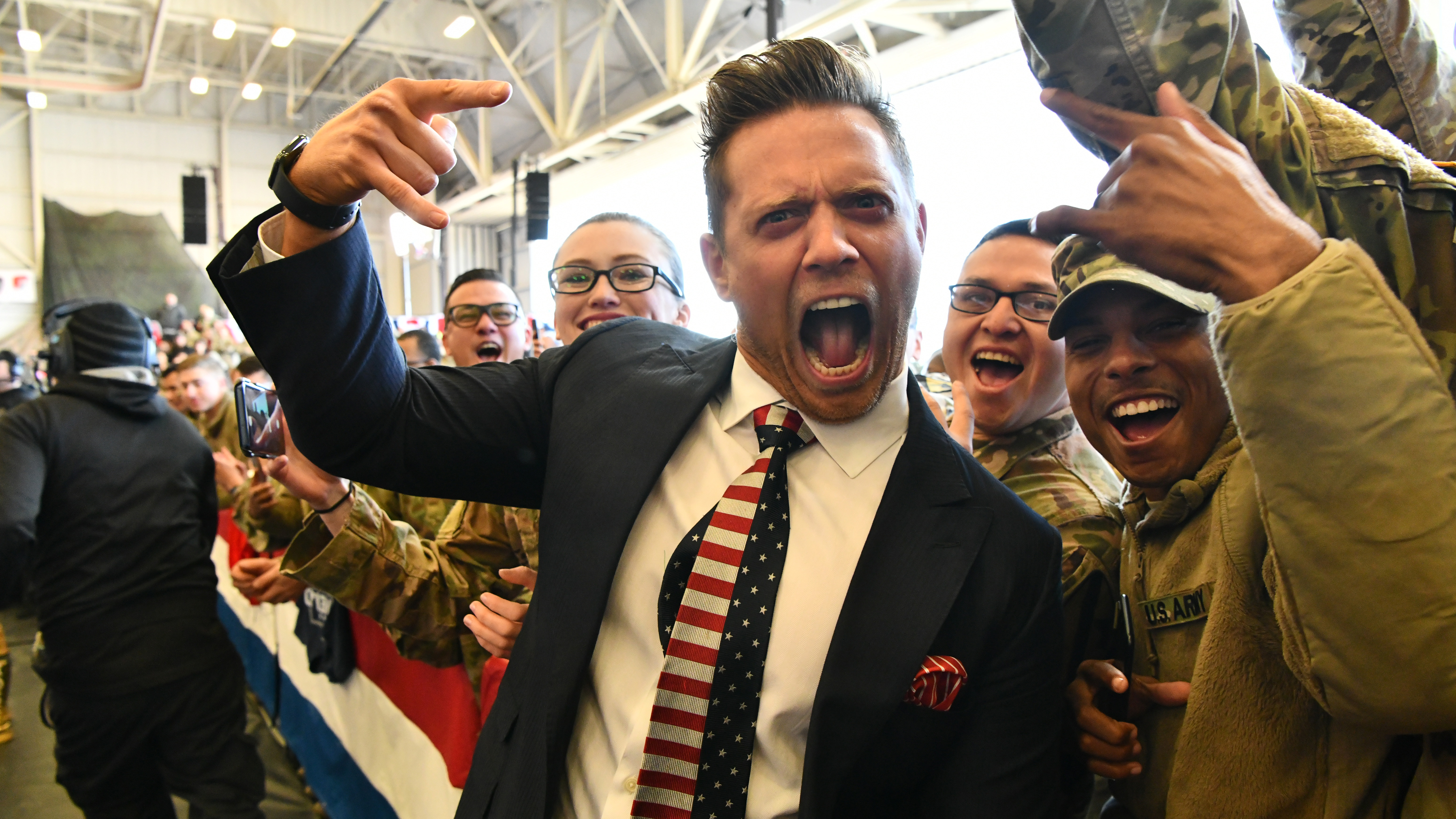 WWE's Mike 'The Miz' Mizanin on Tribute to the Troops special