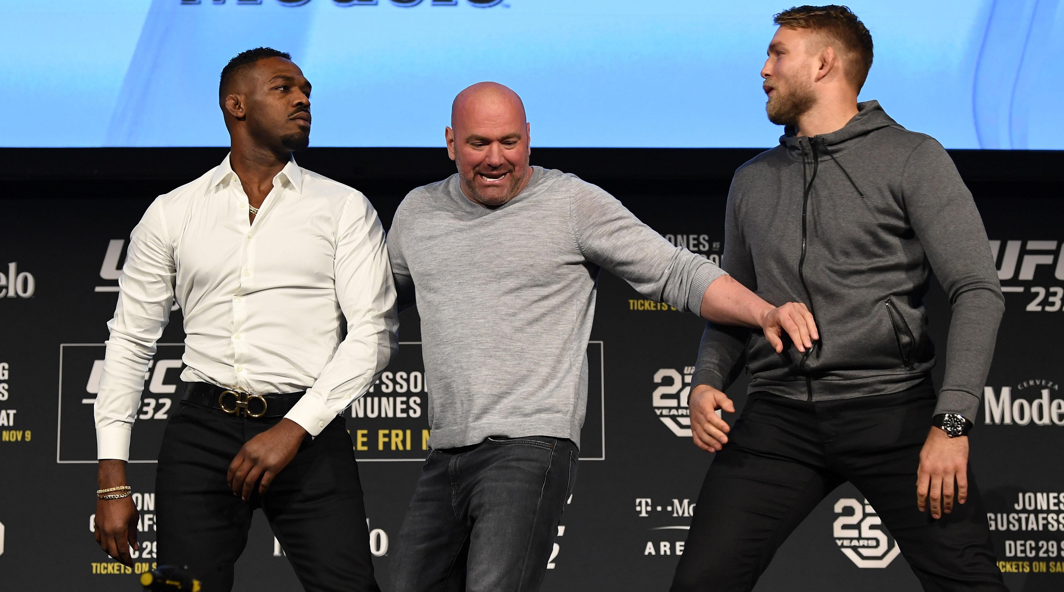 UFC 232 moved because of Jon Jones
