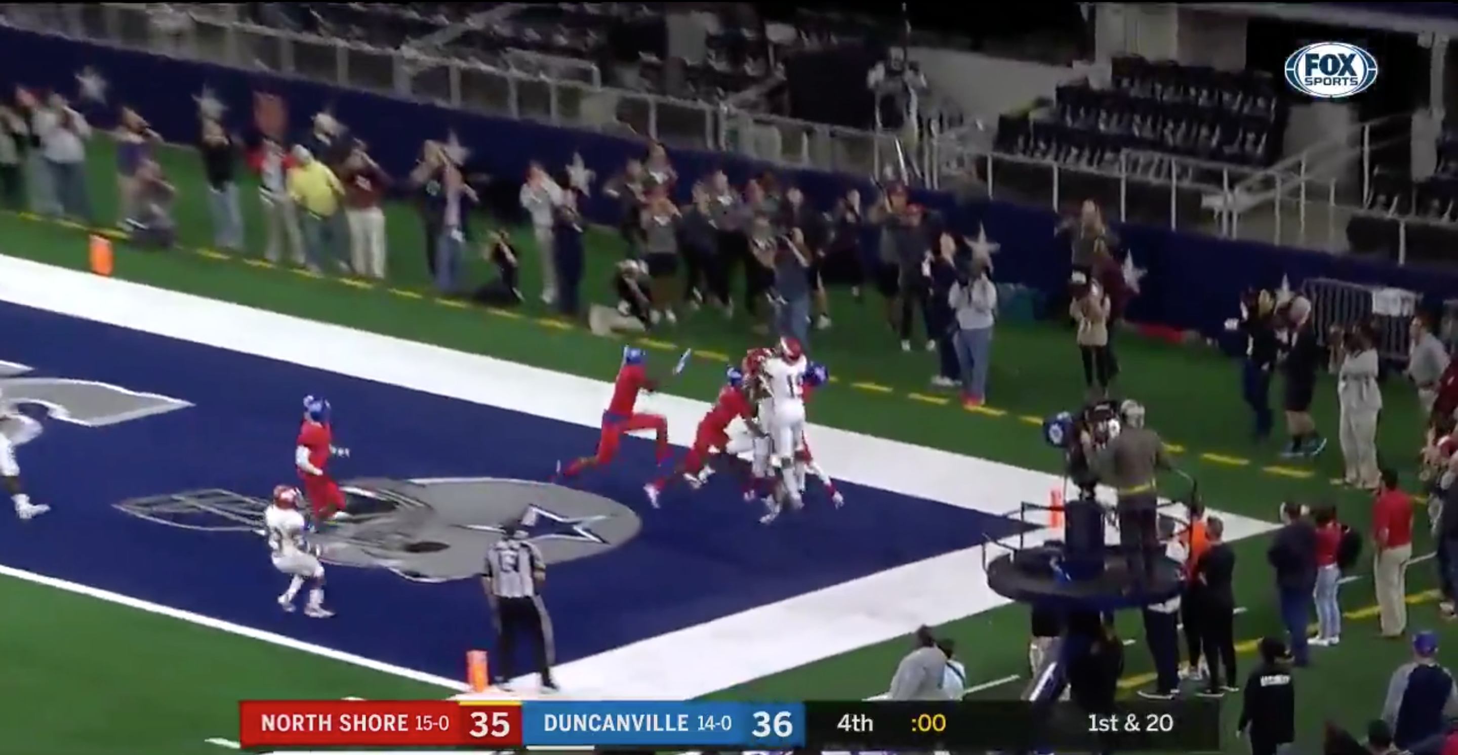 North Shore Wins Texas High School State Title On Hail Mary Video
