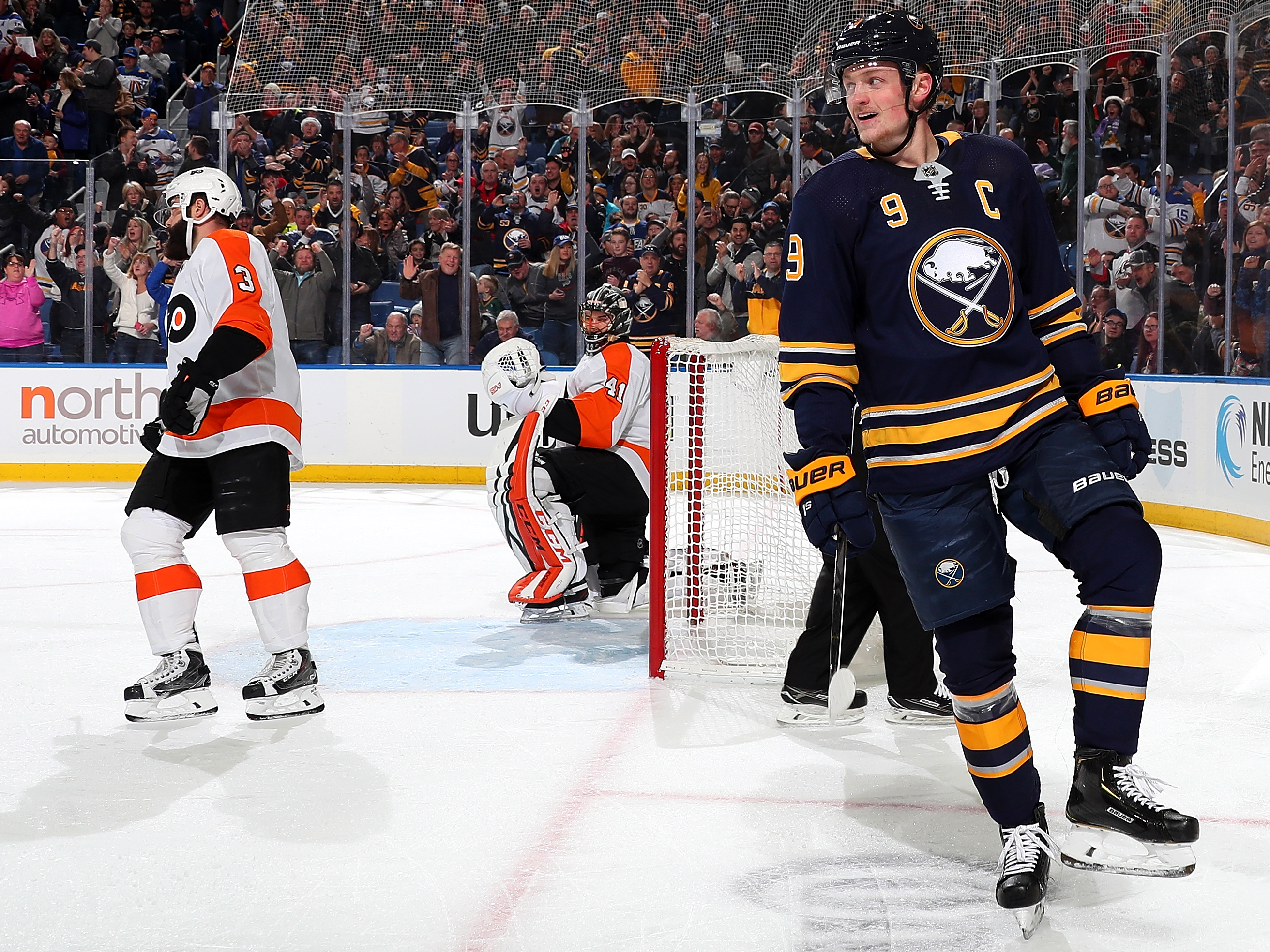 jack eichel leads buffalo sabres to surprising start to the season